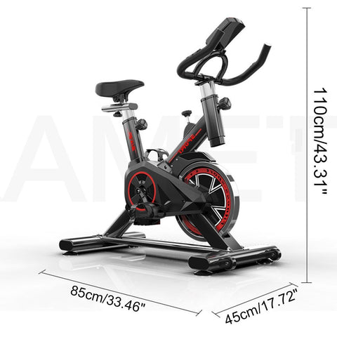 Uptown Vibez Ultra-quiet Indoor Sports Fitness Equipment Home Exercise Bike High Quality Indoor Cycling Bikes 250kg Load Spinning Bicycle #3