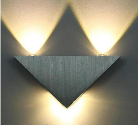 Uptown Vibez warm white / China Modern LED Triangle Lampure Wall Sconce