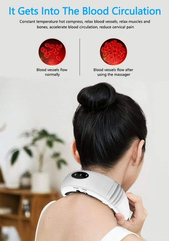 Uptown Vibez Wearable Neck Massager