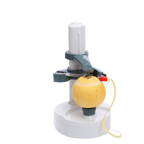 Uptown Vibez White Automatic Electric Peeler