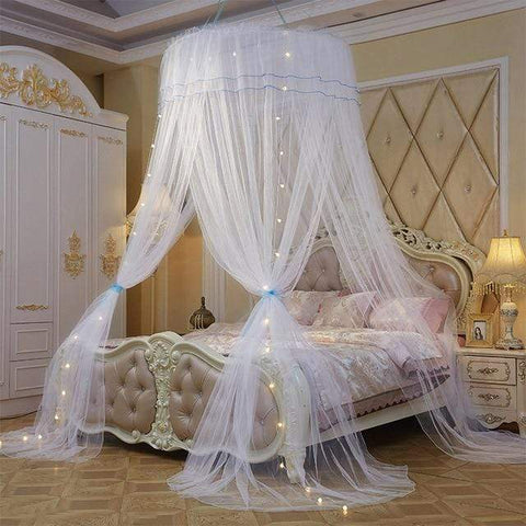 Uptown Vibez white / Universal Luxury Bed Canopy