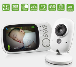 Uptown Vibez Wireless Color Baby Monitor