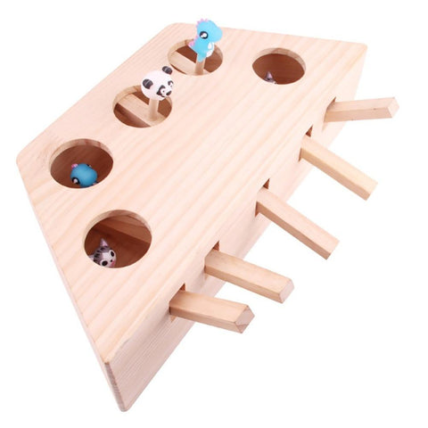 Uptown Vibez Wooden Cat Whack-a-mole Toy