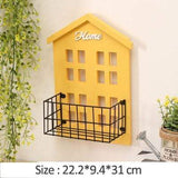 Uptown Vibez Yellow Home Wall Shelf