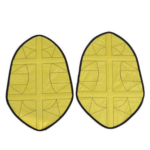 Uptown Vibez Yellow Step In Shoe Covers