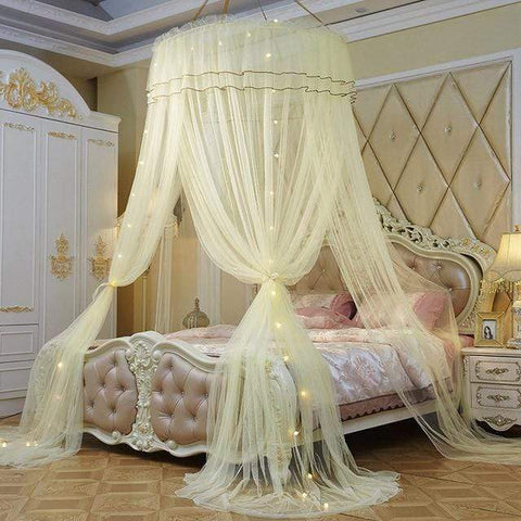 Uptown Vibez yellow / Universal Luxury Bed Canopy