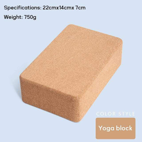 Uptown Vibez yoga block / CHINA 70 in Yoga mat Fitness Natural Cork mats Pilates Sport Slimming Balance Training Gym with Position Line Non Slip Gymnastics Pad