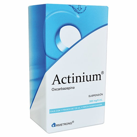 ACTINIUM 300MG/5ML SUSPENCIÓN FRASCO CON 120ML