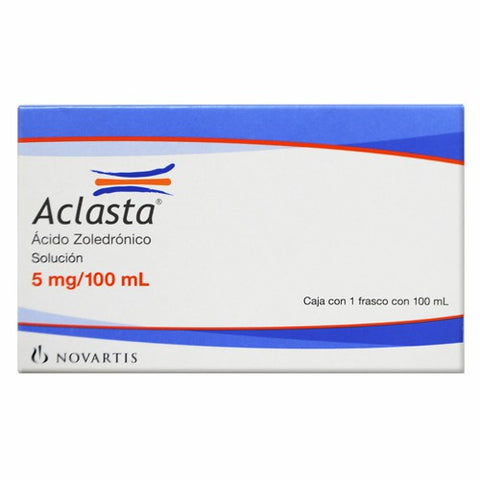 ACLASTA 5 MG/100ML SOLICIÓN INYECTABLE