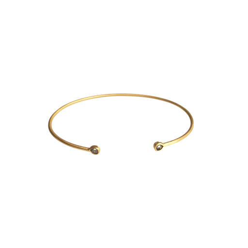 Polki Diamond Memory Bangle