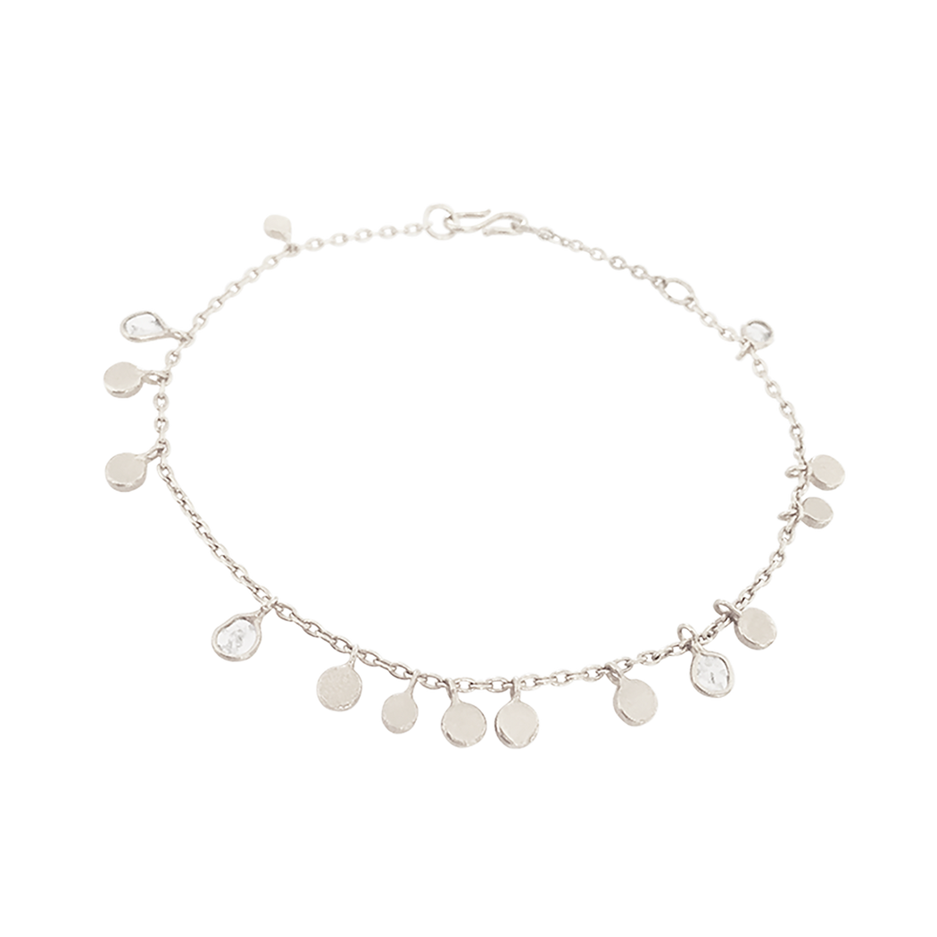 Polki Diamond Leaf Bracelet