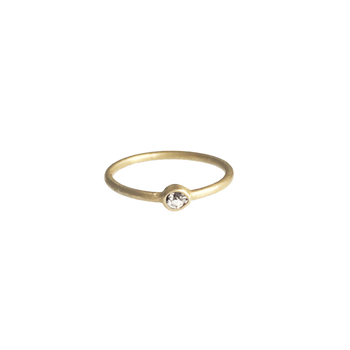 Polki Diamond Memory Ring