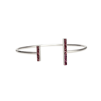 Burgundy Oblong Bangle