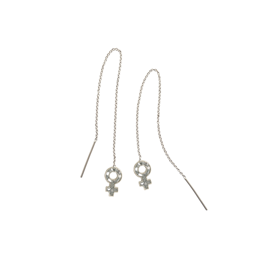 Woman's Chain Earrings