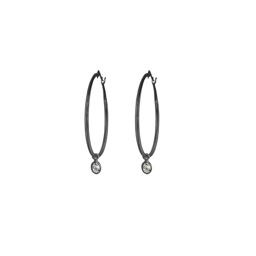 Polki Small Hoop Earrings
