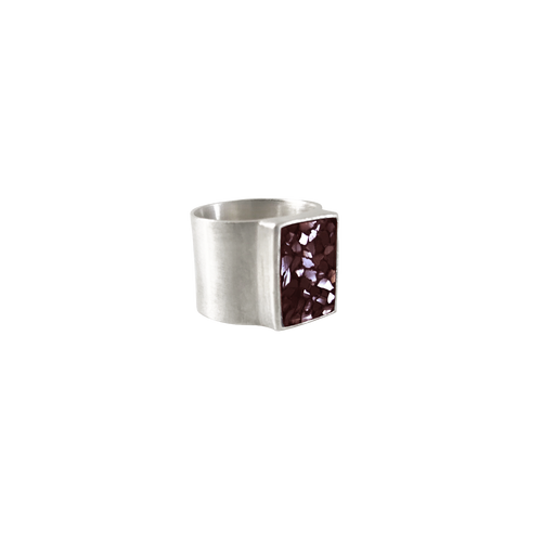 Burgundy Big Seal Ring