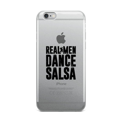 """Real Men Dance Salsa"" iPhone Case"