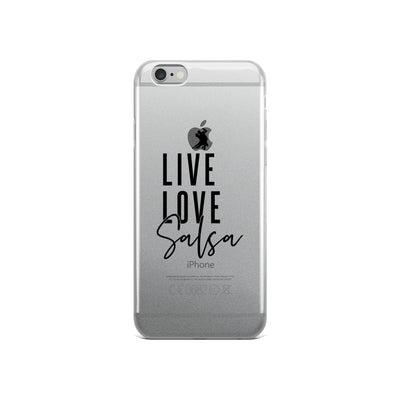 """Live Love Salsa"" iPhone Case"