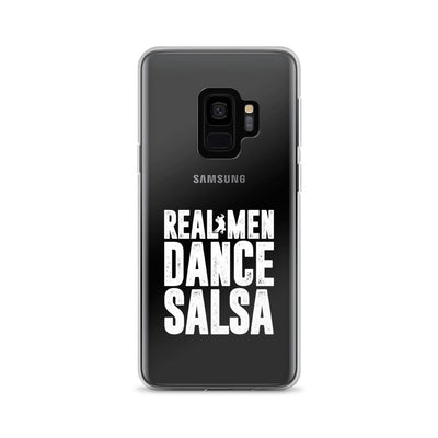 """Real Men Dance Salsa"" Samsung Phone Case"