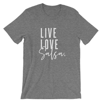 """Live Love Salsa"" Men's T-Shirt"