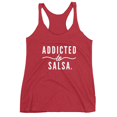 """Addicted to Salsa"" Ladies Tank"