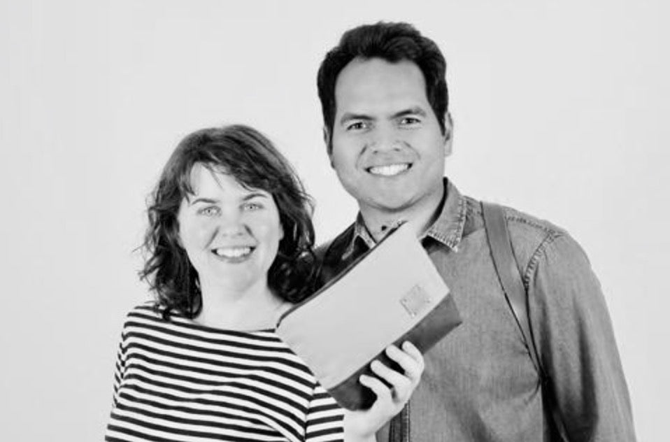 The power couple who love Polynesian design, slow fashion and sustainable materials behind the beautiful bags from Elaisa Design.