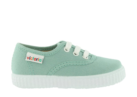 Canvas Plimsolls - Mazana / Apple - apluckygirl