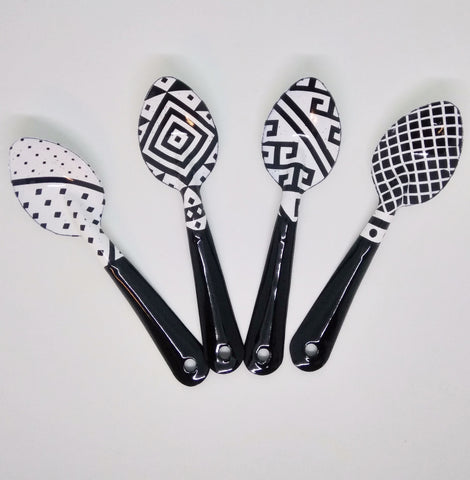 Spoon set of 4 - Queretaro collection - apluckygirl