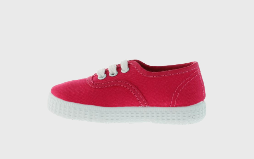 Canvas Plimsolls - Strawberry - apluckygirl