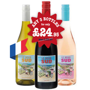 wine of the month offer any 3 bottles for £24.95