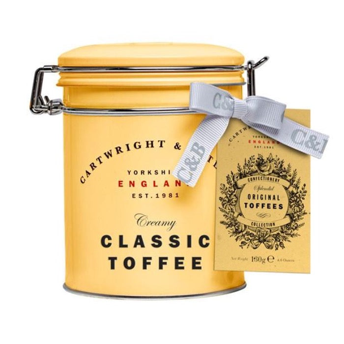 CARTWRIGHT & BUTLER Original Toffees Tin 130g