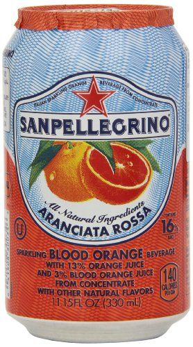 SAN PELLEGRINO RED ORANGE 330ML
