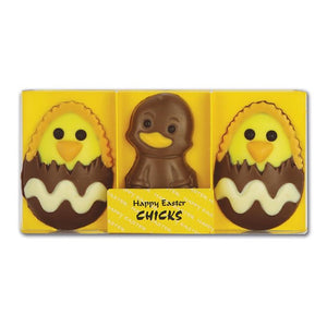 GWYNEDD CONFECTIONERS Happy Easter Chicks 90g