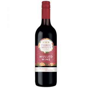 THREE MILLS Mulled Wine 5.5% Abv 750ml