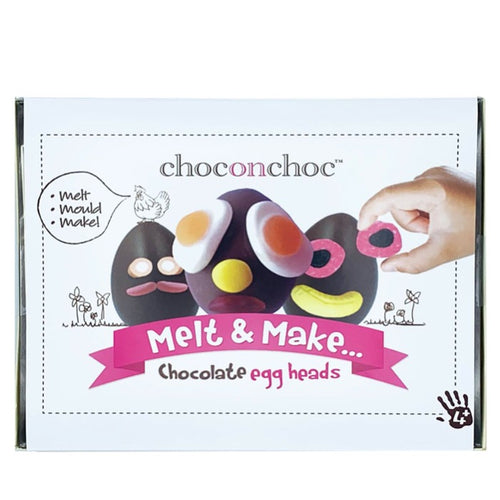 CHOC ON CHOC Make Your Own Chocolate Easter Egg Kit