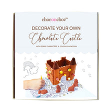 CHOC ON CHOC Decorate Your Own Milk Chocolate Castle Kit