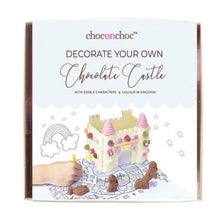 CHOC ON CHOC Decorate Your Own White Chocolate Castle Kit