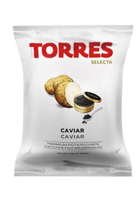 TORRES IBERICO Potato Chips with Caviar 110g