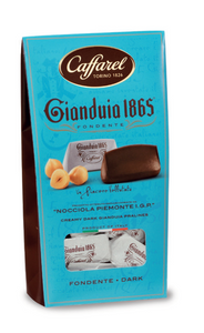 CAFFAREL Dark Gianduia window ballotin 150gr