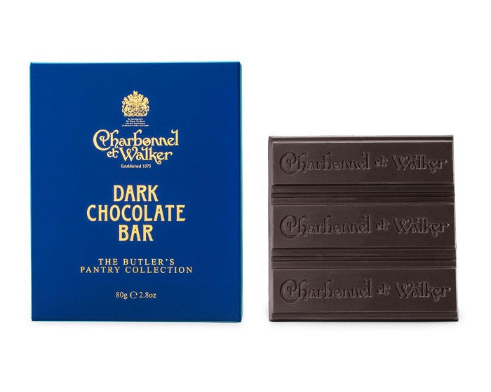 CHARBONNEL ET WALKER Dark Chocolate Butler Bar 80g
