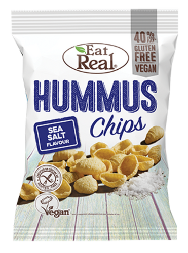EAT REAL Sea Salt Hummus Chips 45g