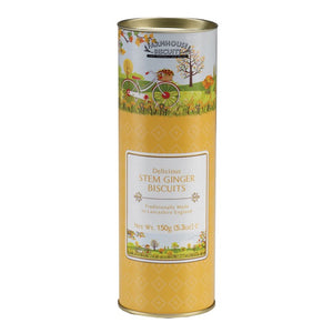 FARMHOUSE BISCUITS Spring Time Stem Ginger Tube 150g