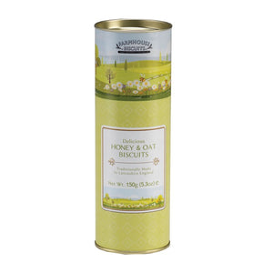 FARMHOUSE BISCUITS Spring Time Honey & Oat Tube 150g