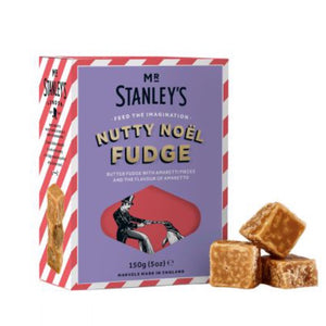 MR STANLEYS Nutty Noel Fudge 150g