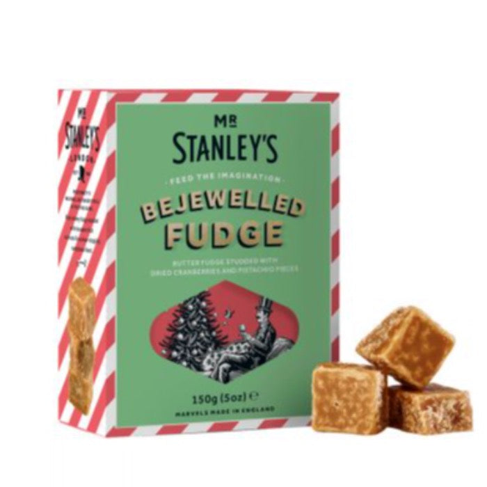 MR STANLEYS Bejewelled Fudge 150g