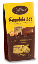 CAFFAREL Gianduia window ballotin 150gr
