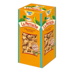 LA PERRUCHE Rough Cut Lump Brown Sugar 500g