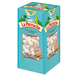 LA PERRUCHE Rough Cut Lump White Sugar 500g