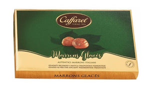 CAFFAREL Marron Glaces box 275GR.
