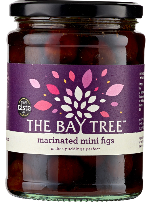 THE BAY TREE Marinated Miniature Figs 570gr